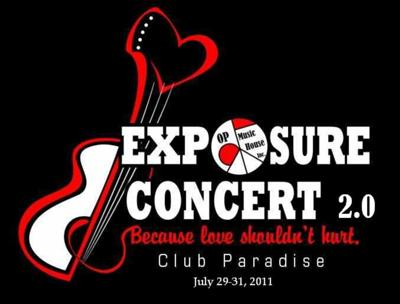 EXPOSURE Concert: Because love shouldnt hurt